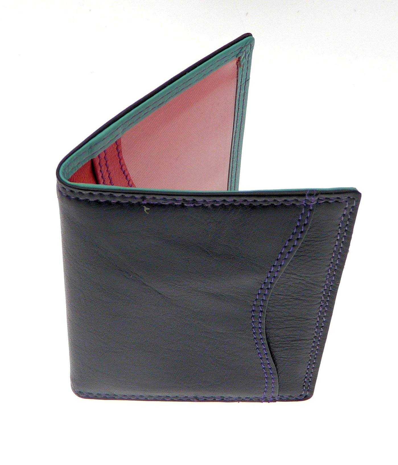 genuine leather travel pass oyster credit card holder
