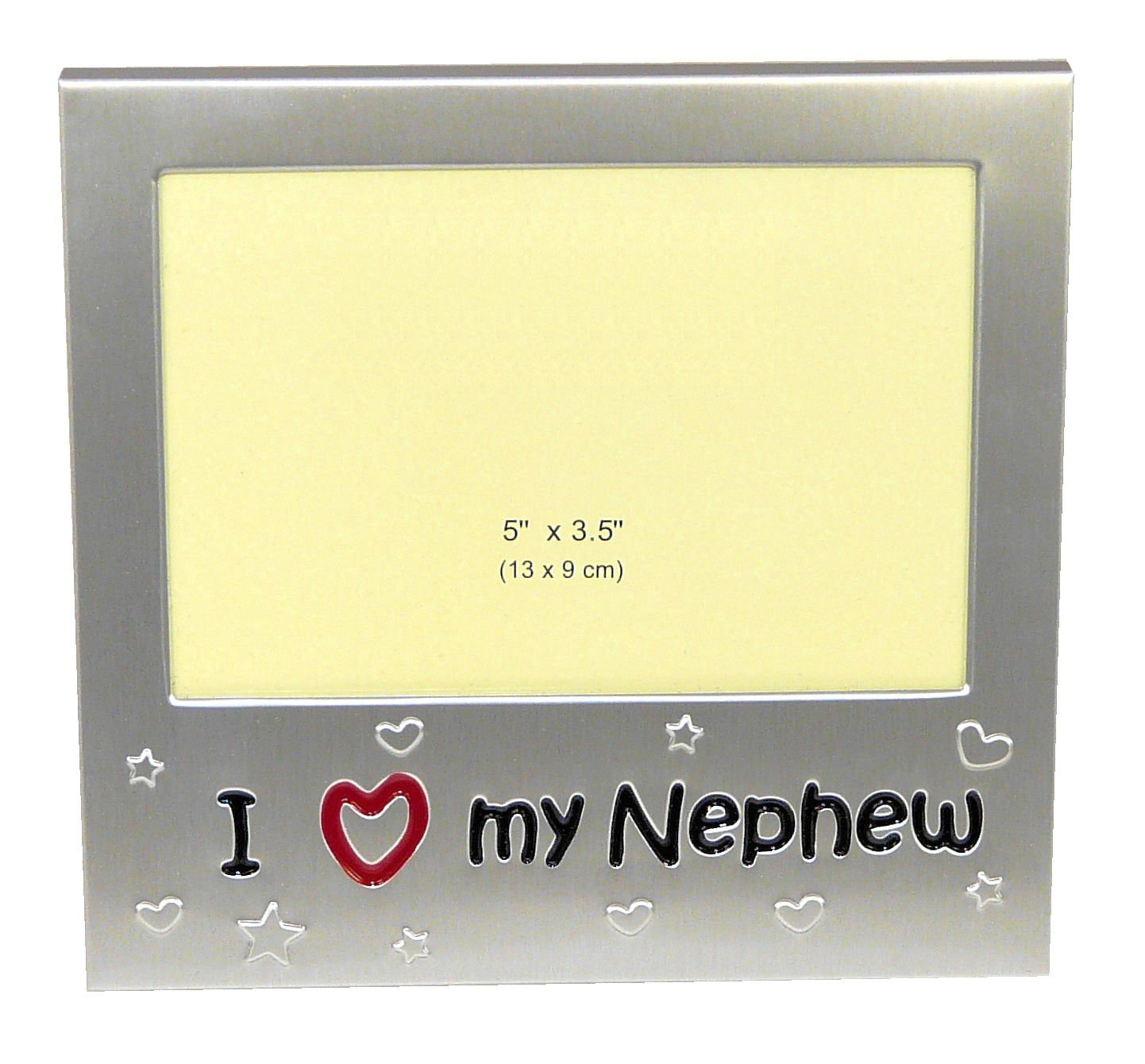 Wedding Gifts For Nephew : love my nephew photo picture frame gift 5 3 5 i love my nephew ...