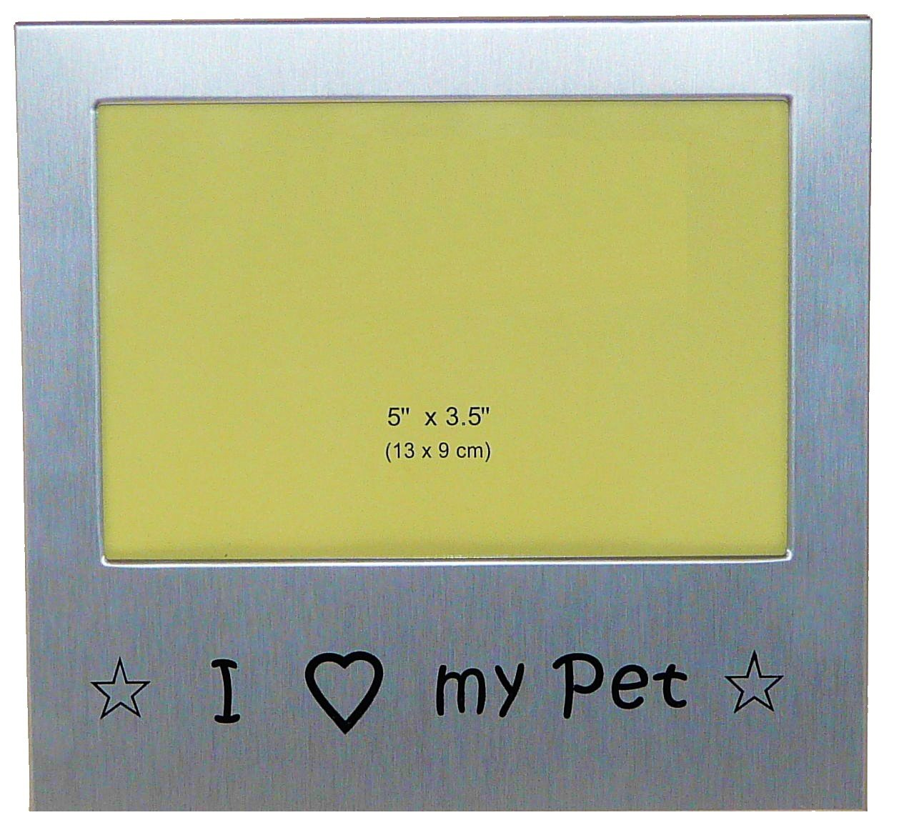 I Love My Pet Photo Picture Frame Gift 5 x 3.5