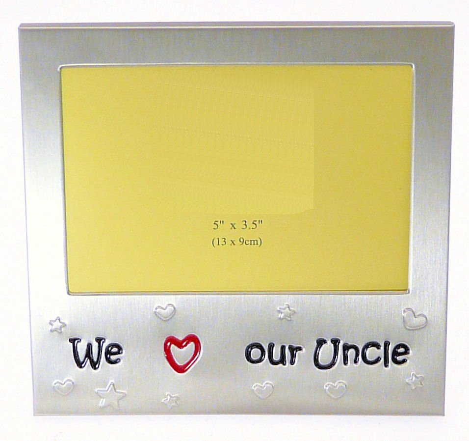 we love our uncle photo picture frame gift 5 x 35