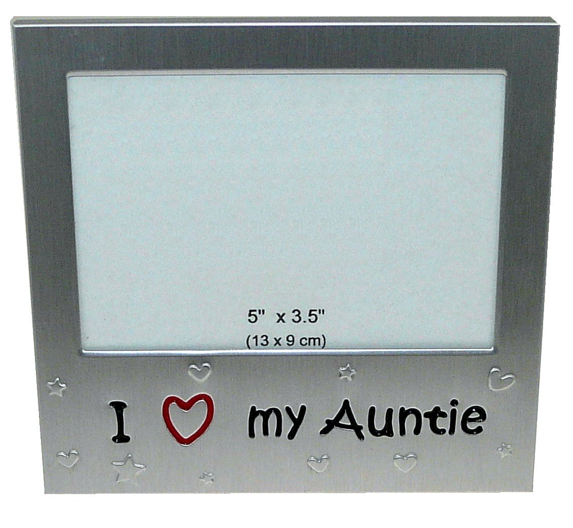 I Love My Auntie Photo Picture Frame Gift 5 X 35