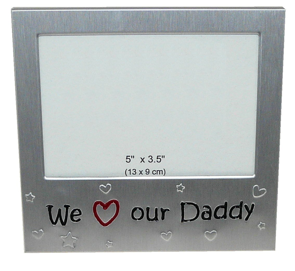 We Love Our Daddy Photo Picture Frame Gift 5 x 3.5